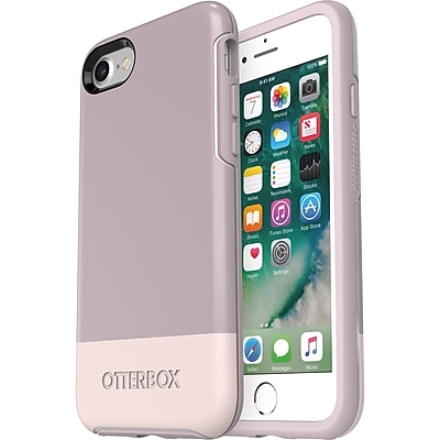 OtterBox Symmetry Series Case for iPhone 8 and iPhone 7, Skinny Dip (77-56674)