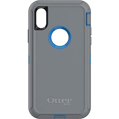 OtterBox Defender Carrying Case with Holster for iPhone X, Marathoner (77-57453)