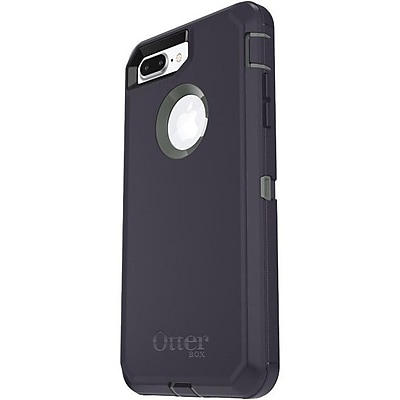 OtterBox Defender Carrying Case with Holster for iPhone 8 Plus and iPhone 7 Plus, Stormy Peaks (77-56826)