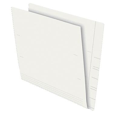 Pendaflex® – Chemise à onglet latéral renforcé pleine longueur, 13 1/2 pts, format lettre, ivoire, paq./100