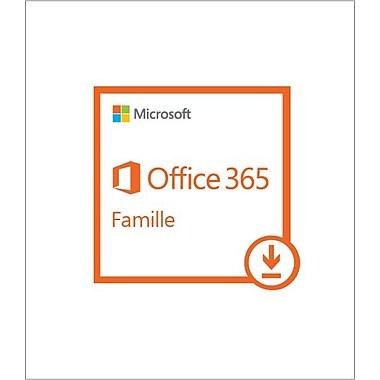 Microsoft - Office 365 Familial, abonnement d'un an, bilingue [téléchargement]