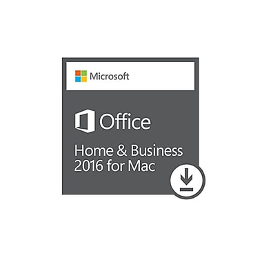Microsoft Office Home and Business 2016 for Mac, Bilingual [Download]
