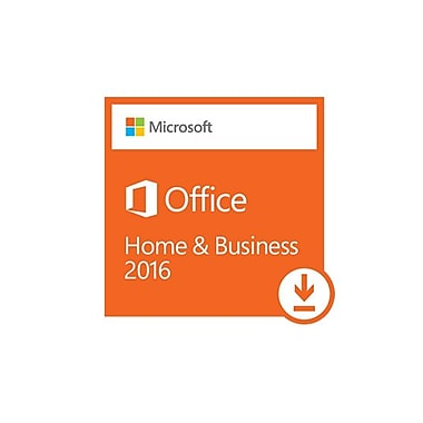 Microsoft Office Home and Business 2016 for Windows, Bilingual [Download]