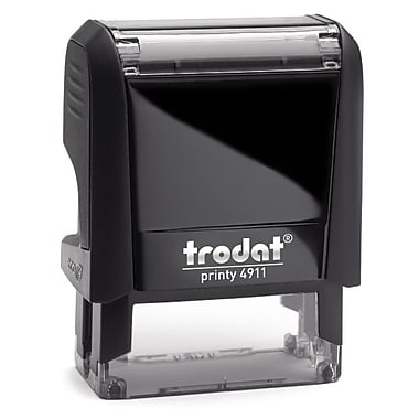 Trodat® Printy 4911 Self-Inking Stamp, Annulé, Red Ink