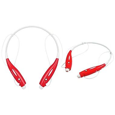 Global Phoenix – Casque d'écoute sport, sans fil, rouge (GPCT609 Red)