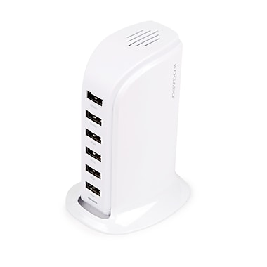 Global Phoenix – Chargeur USB multiport, blanc (GPCT686 White)