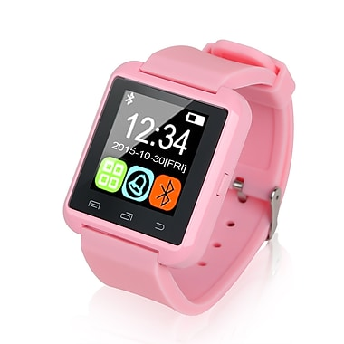 Global Phoenix – Montre intelligente Bluetooth, rose (GPCT676 Pink)