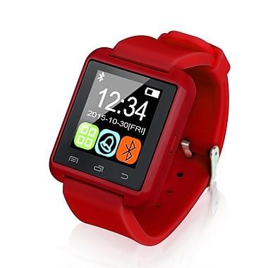 Global Phoenix – Montre intelligente Bluetooth, rouge (GPCT676 Red)
