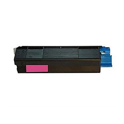 Okidata Toner Cartridge, 52115902, Magenta