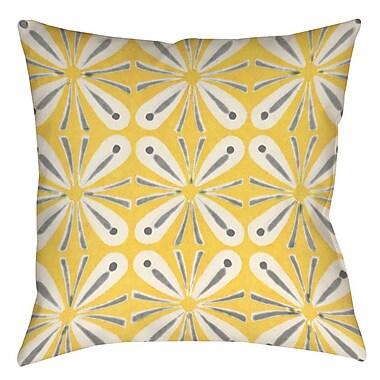 Latitude Run Salzman 1 Printed Throw Pillow; 26'' H x 26'' W x 7'' D