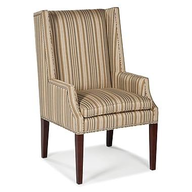 Fairfield Chair High Wingback Chair; Ebony
