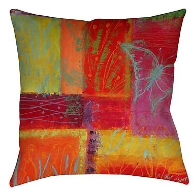 Latitude Run Samons Indoor/Outdoor Throw Pillow; 18'' H x 18'' W x 5'' D