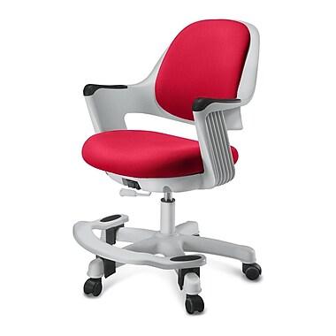 Zoomie Kids Alfreda Kids Chair; Fabric - Ruby Red