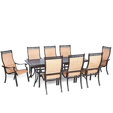 Darby Home Co Barras 9 Piece Outdoor Dining Set