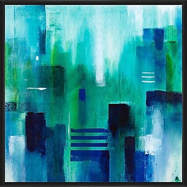 Corrigan Studio 'New Emerald City Copy' Framed Print on Canvas