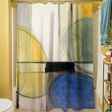 East Urban Home Geometric Shower Curtain