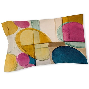 East Urban Home Abstract Sham; Twin