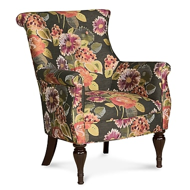 Fairfield Chair Bombe Wingback Chair; Teal