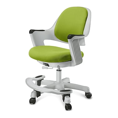 Zoomie Kids Alfreda Kids Chair; Fabric - Lime Green