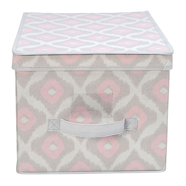Macbeth Collection Closet Candie Fabric Storage Box; Large