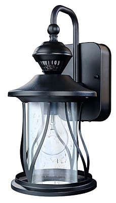 Darby Home Co Justice 150 Motion Activated Decorative 1-Light Outdoor Wall Lantern WYF078282090817