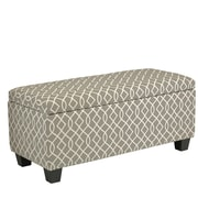 Ebern Designs Barlett Wood Storage Bedroom Bench