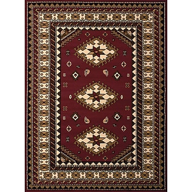 Loon Peak Juana Burgundy Area Rug; 2'3'' x 7'2''