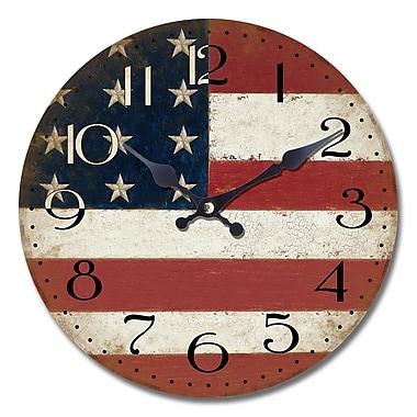 August Grove Loesser 13.5'' Wall Clock
