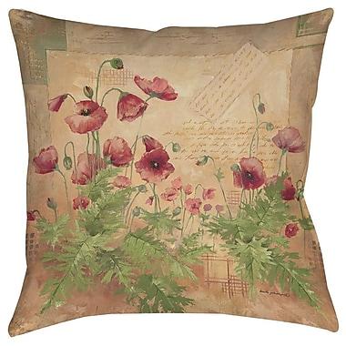 August Grove Sinha 1 Printed Throw Pillow; 14'' H x 14'' W x 3'' D