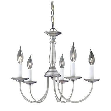 August Grove Gomes 5-Light Candle-Style Chandelier
