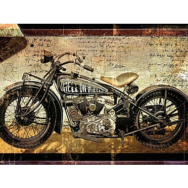 Red Barrel Studio 'Hell on Wheels' Painting Print on Wrapped Canvas
