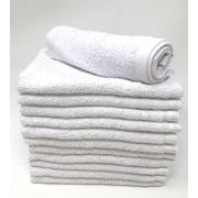 Winston Porter Peabody 12 Piece Washcloth Towel Set (Set of 12); White