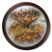 Loon Peak San Gabriel Tail Collage 15'' Analog Wall Clock