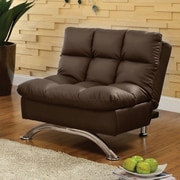 Latitude Run Pennock Convertible Chair; Dark Espresso