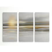 Highland Dunes 'Soft Sea' Graphic Art Print Multi-Piece Image on Wrapped Canvas; 40'' H x 60'' W