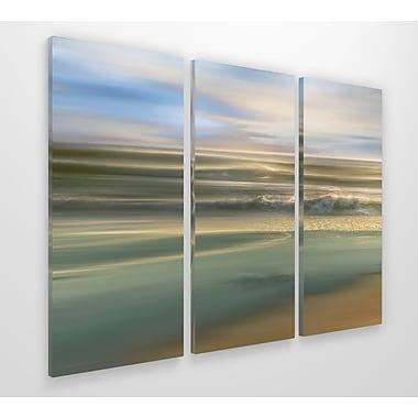 Highland Dunes 'Topaz Light' Graphic Art Print Multi-Piece Image on Wrapped Canvas; 32'' H x 48'' W