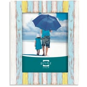 Highland Dunes Washed Wood Picture Frame; 5'' x 7''