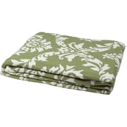 Rosdorf Park Broxburne Reversible Damask Throw; Apple/Milk