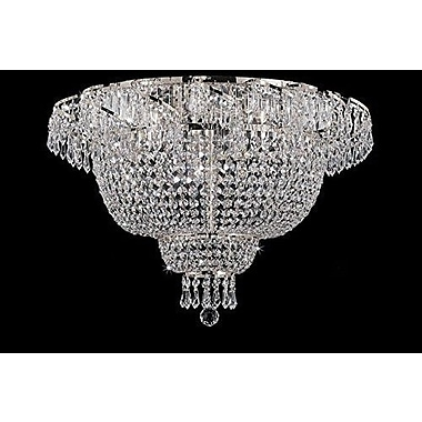 Willa Arlo Interiors Charvi 6-Light Flush Mount