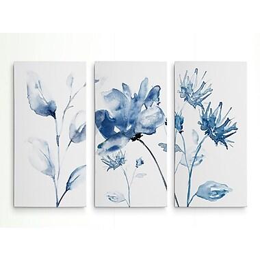 Ophelia & Co. 'Translucent Blues II' Acrylic Painting Print Multi-Piece Image on Wrapped Canvas
