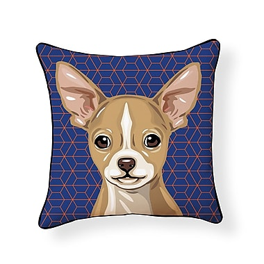 East Urban Home Pooch Chihuahua Outdoor Throw Pillow