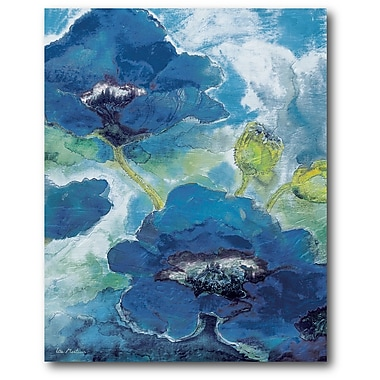 Winston Porter 'Flowers I' Painting Print on Wrapped Canvas