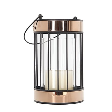 Red Barrel Studio Glass Lantern
