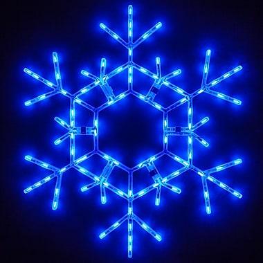 The Holiday Aisle LED Folding Snowflake