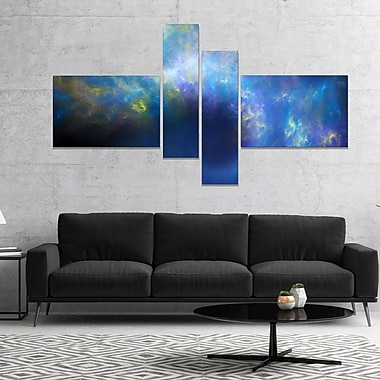 East Urban Home 'Perfect Whirlwind Starry Sky' Graphic Art Print Multi-Piece Image on Canvas
