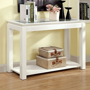 Longshore Tides Annalee Console Table; White