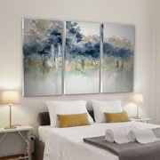 Alcott Hill 'Waters Edge I' Acrylic Painting Print Multi-Piece Image on Wrapped Canvas
