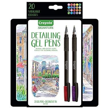 Crayola 20ct Detailing Gel Pens