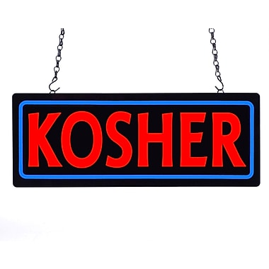 CM Global MystiGlo LED Kosher Lightbox Sign (425-25-KOSHER)