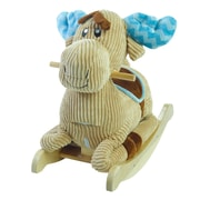 Rockabye Chocolate Moose Rocker (85085)